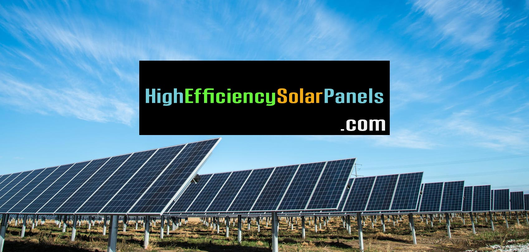 Domain: High Efficiency Solar Panels (dot COM)