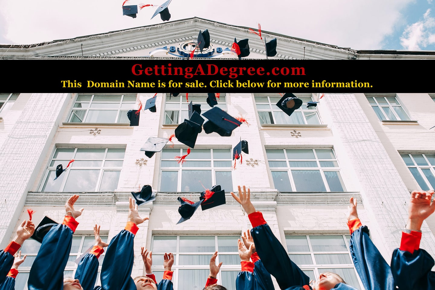 Getting a degree - Information article and domain sale information