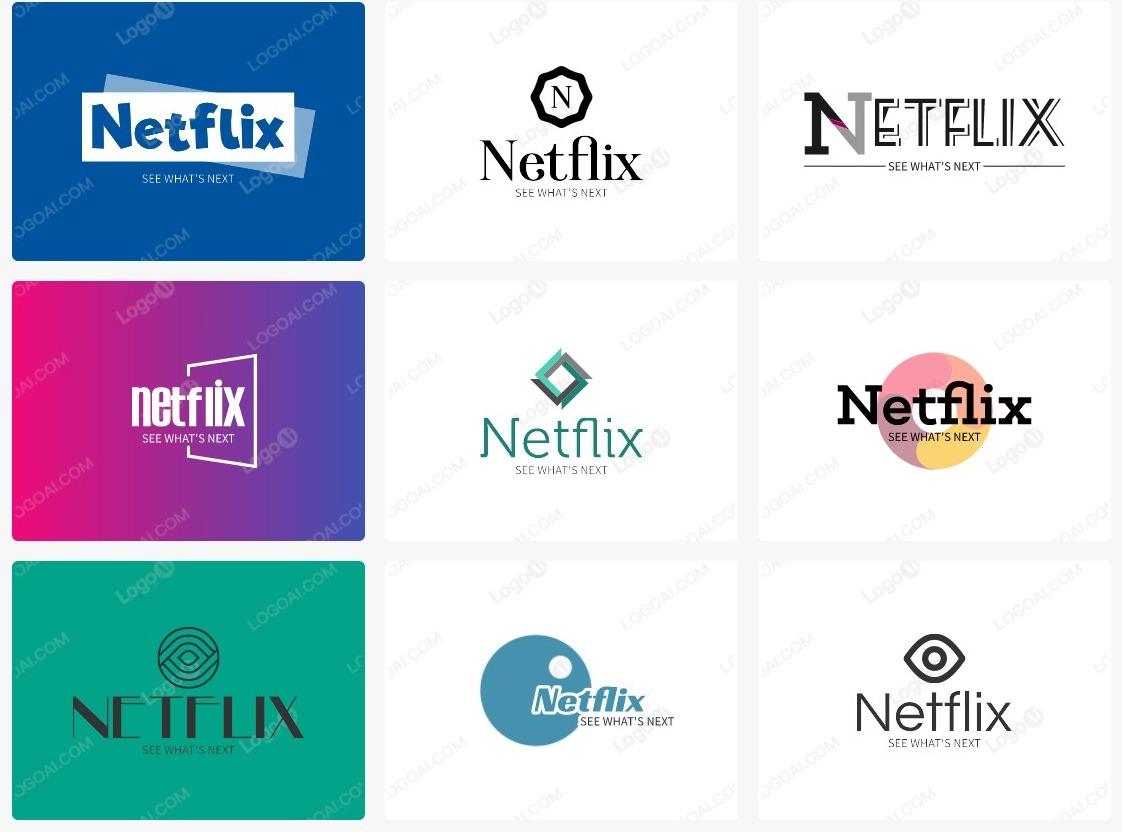 Netflix AI logo